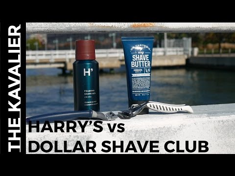 Harry's vs Dollar Shave Club - Best Shaving Subscription Plan | Razor Review and Comparison