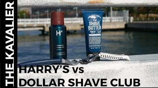 Harry's vs Dollar Shave Club - Best Shaving Subscription Plan Razor Review and Compari ...