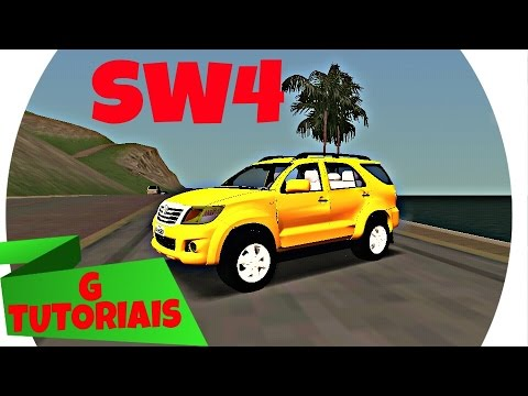 HILUX SW4 ⚠GTA SA ANDROID⚠