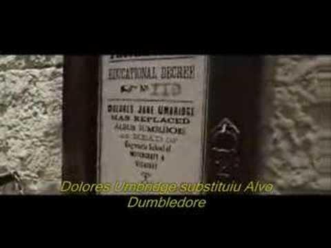 Trailer do filme Harry Potter e a Ordem da Fênix