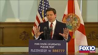 Florida Gov DeSantis Presser for April 21st 2020