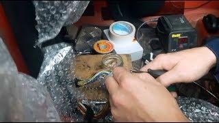 Бложек про ремонт проводки по уму после потопа - правильная пайка