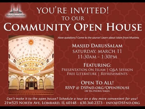 Masjid DarusSalam Community Open House 2017