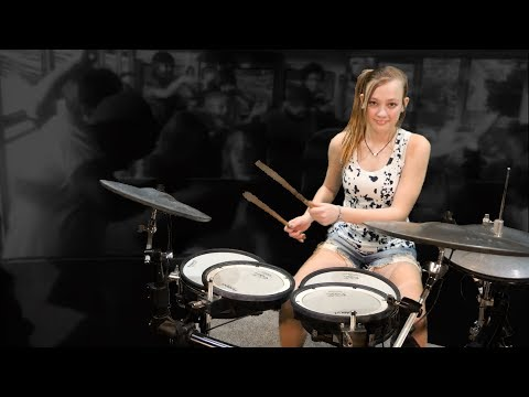 Van Halen – Hot For Teacher / Mia Morris 13-years old / Nashville Drummer, Musician, Songwriter