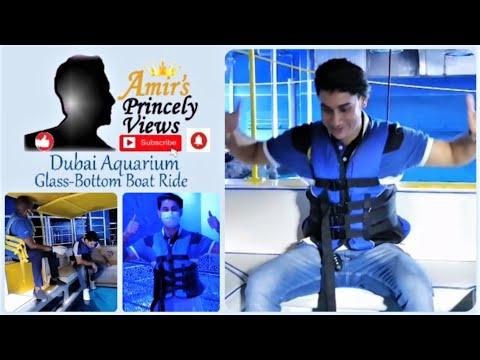 Dubai Aquarium Glass-Bottom Boat Ride 2020 | Dubai Mall
