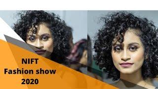 NIFT Mumbai Fashion Show 2020 Back stage Hair & Makeup