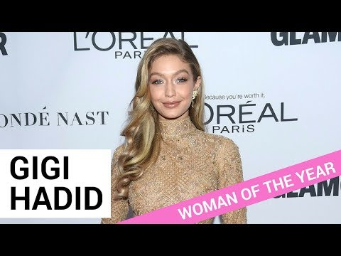 """Gigi Hadid Gives Powerful Speech While Winning """"Woman of the Year"""""""