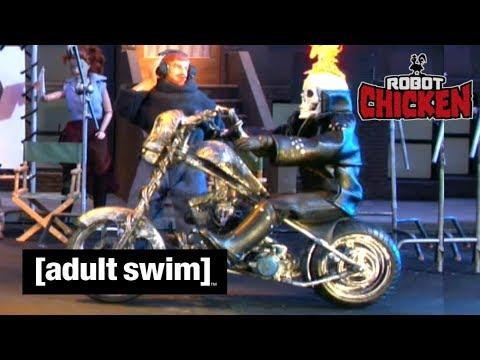 Adult Swim VF - Robot Chicken 🇫🇷 | Fauteuil Massant [extrait S02E10]