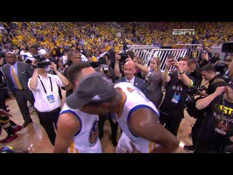Final Moments Of Nba Finals 2017 Game 5 Replay