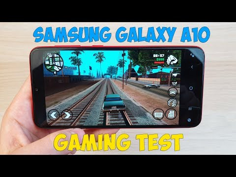 ТЕСТ ИГР НА SAMSUNG GALAXY A10 (Exynos 7884) GAME TEST