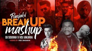 Punjabi Breakup Mashup 2021 - Dj Sourav X VDj Jakaria - Punjabi Broken Song