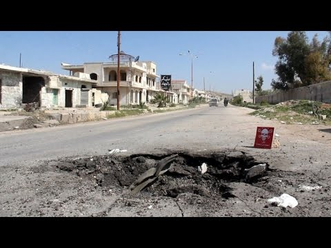 Download 'God bless the Americans' says Syria town hit by chemical attack