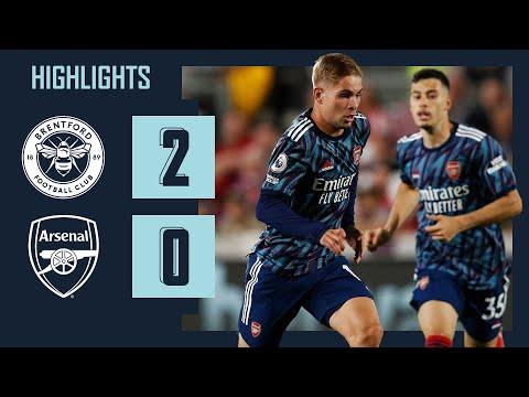 HIGHLIGHTS |  Brentford vs Arsenal (2-0) |  Canos, Norgaard