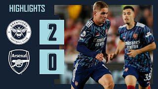 HIGHLIGHTS | Brentford vs Arsenal (2-0)