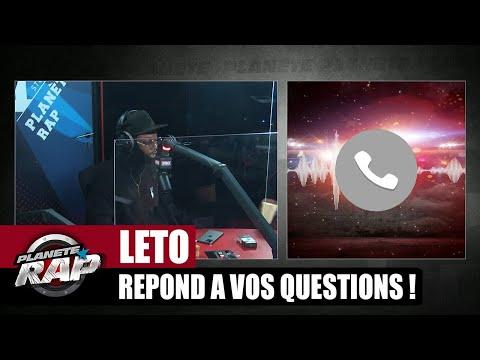 Youtube: Un RETOUR de PSO THUG? Leto répond à VOS questions! #PlanèteRap