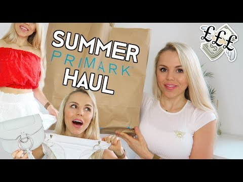 PRIMARK COMES THROUGH!!!!!  SUMMER / HOLIDAY HAUL