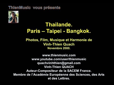 Paris   Taipei   Thailande   Bangkok