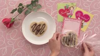 hershey s valentine s day recipe kisses sweetheart cookies