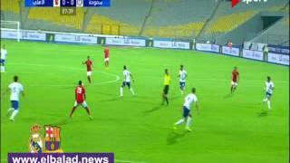 20 دقيقة..تعادل سلبي و'آجايى' يهدر هدفا للأهلى أمام سموحة..فيديو