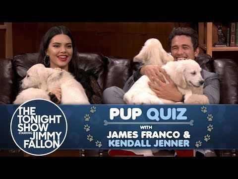 Pup Quiz with Kendall Jenner and James Franco