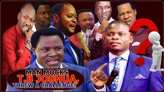 T.B JOSHUA: Oh! This Mockery Is Too Much, Even Me I Disagree