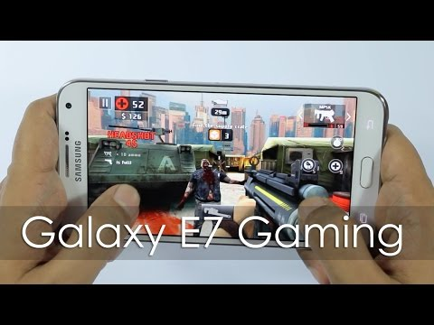 Samsung Galaxy E7 Gaming Review & Benchmarks
