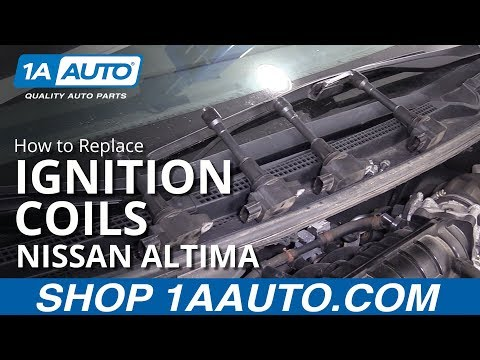 How to Replace Coils 06-17 Nissan Altima