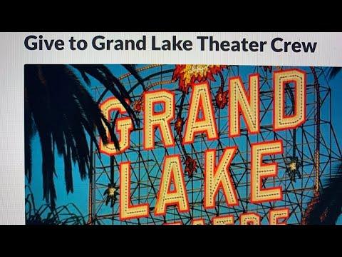 Grand Lake Theater Oakland Staff Fundraiser Still Short Of $35K Goal At $30,283 As Of April 13 2021 https://youtu.be/RJxkYeCl-Jo