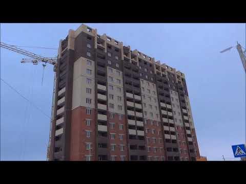 Видеообзор ЖК Ломоносов Рязань 07 12  2017 г  продажа квартир Телков Сергей