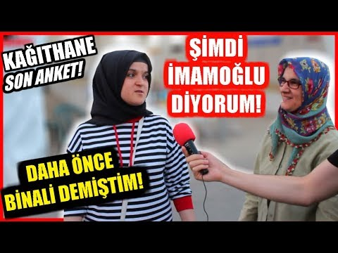 KAĞITHANE SEÇİM ANKETİ! 23 Haziran İstanbul Seçim Anketleri!