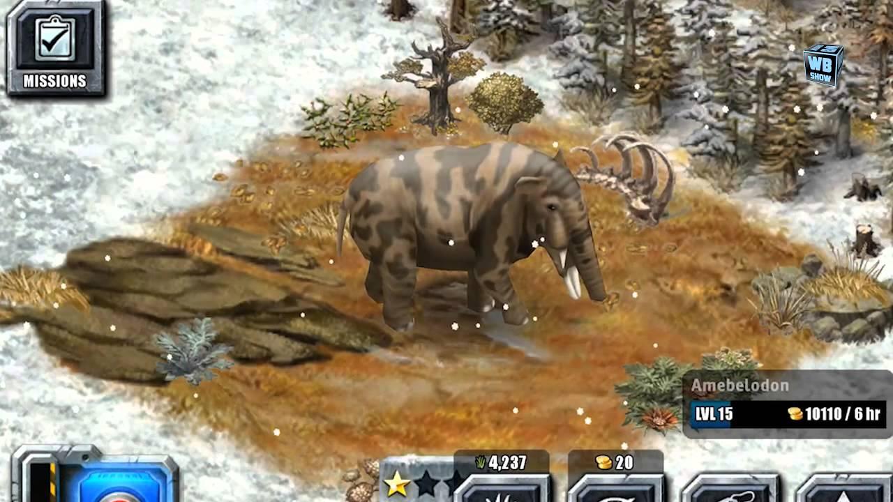 Jurassic Park Builder - Amebelodon [Glacier Park] [Limited ...