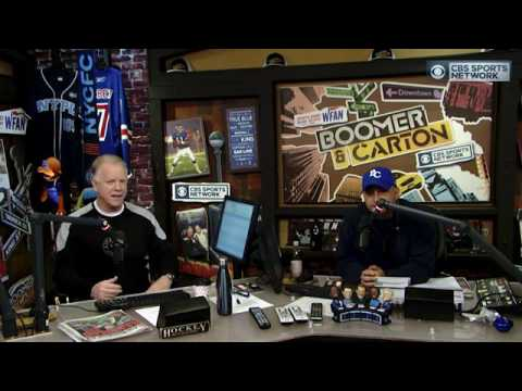 Boomer and Carton  NFL playoffs preview
