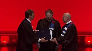 Discours d'Alexandre Taillefer lors de la remise de son doctorat honoris causa par l'UQAM