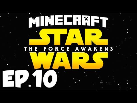 Star Wars: The Force Awakens Ep.10 - REPTILLIAN, SMELTERY, & FLOOD!!! (Minecraft Modded Survival)