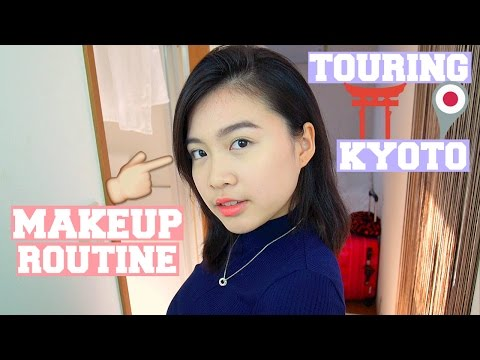 MAKEUP ROUTINE & TOURING KYOTO l Travel Diary