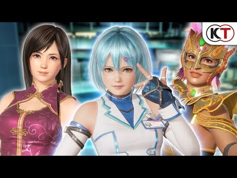 New trailer gives us a closer look at Dead or Alive 6 Lisa, Kokoro and NiCO