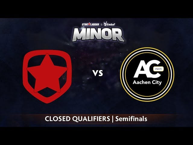 Gambit vs Aachen Game 1 - StarLadder ImbaTV CIS Qualifier: Semifinals