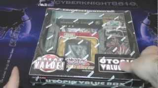 Yugioh Utopia Value Box Opening Giant Utopia Card!!!