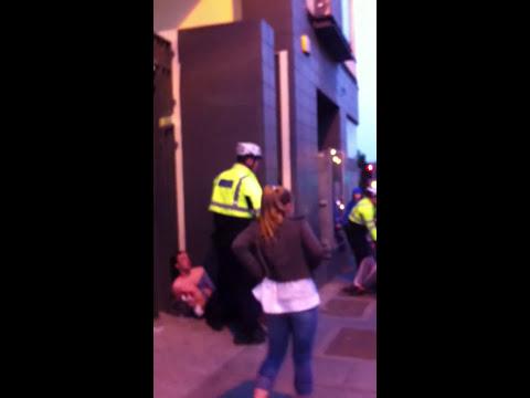 Garda vs Teenagers(Gardiner street,Dublin) 2011