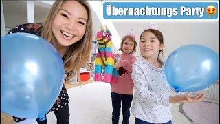 Claras Einweihungs Übernachtungsparty im neuen Kinderzimmer 😍 BFF zu Besuch! VLOG | Mamiseelen