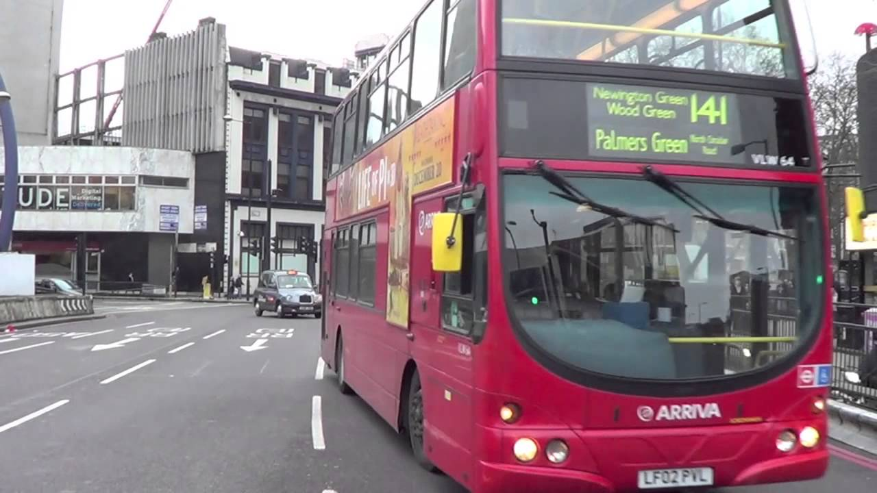 London Buses Route 141 To Palmers Green North Circular