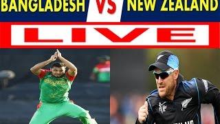 Bangladesh vs Newzealand--Tri Nation Series--3rd odi---2017--live