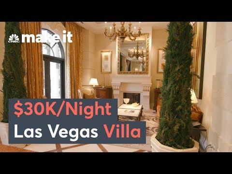 Inside A $30k Per Night Las Vegas Villa