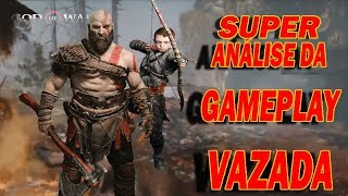 God of War - Supernálise da Gameplay Vazada