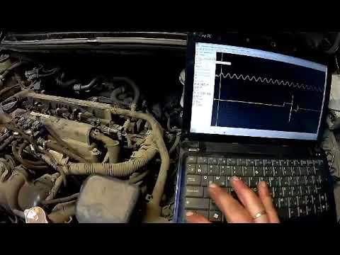 Kia Rio троит двигатель, компьтерная диагностика мотортестер СТО Спартак