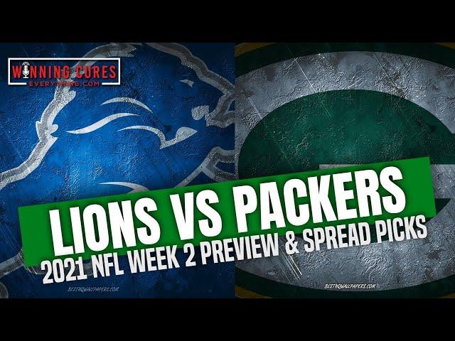 Detroit Lions vs Green Bay Packers 2021 Week 2 Picks Against the Spread