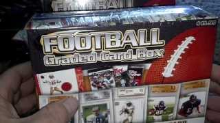 New 2013 Nfl Graded Card Box Break From Target