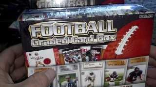 New 2013 Nfl Graded Card Box Break From Target
