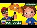 ChuChu TV Policia Ovos Surpresa - Episodio 12 - Os amigos guarda-chuva | ChuChu TV