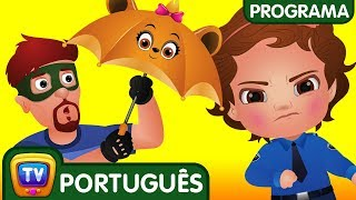 ChuChu TV Policia Ovos Surpresa - Episodio 12 - Os amigos guarda-chuva | ChuChu TV